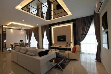 Freehold Lake View Double Storey Terrace at Putrajaya for Sale