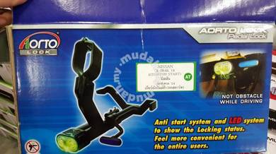 Honda city gm6 aorto pedal lock with led