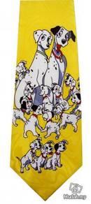 101 Dalmatians Disney Dog Puppy Y Cartoon Neck Tie