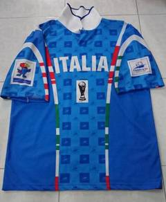 Preloved Italia 1998 World Cup Soccer Jersey