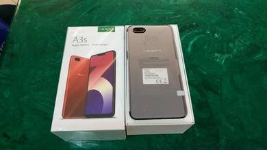 Oppo A3s Fullset Good Condition with box