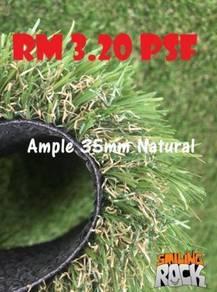 Artificial Grass / Rumput Tiruan A35mm Natural 129