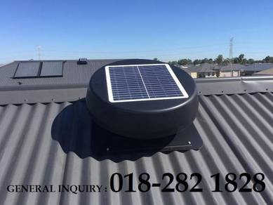 HGV26-S Solar Powered Roof Exhaust Fan Germany