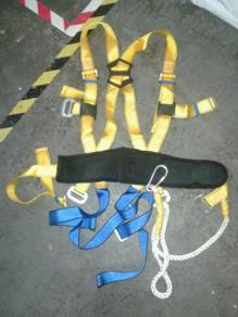 Full body safety harness with big snap hook