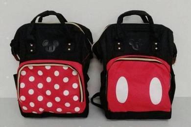 Mickey & Minnie Bagpack