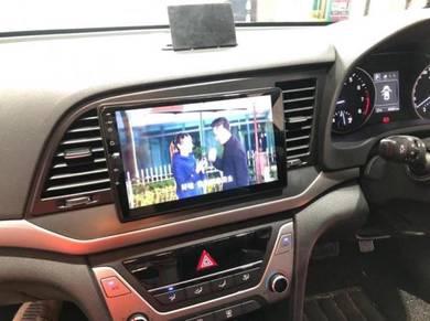 "Hyundai elantra 2018-2019'9""android player"