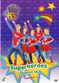 DVD Hi-5 Season 16 Vol.2 Superheroes (Australia)