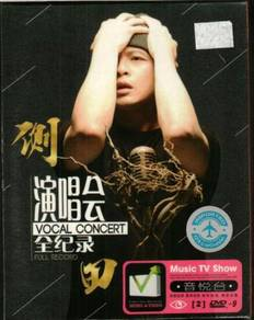 DVD Justin Lo Vocal Concert Full Record 2DVD