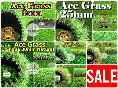 Artificial Grass Serat U/M Rumput Tiruan Carpet 05