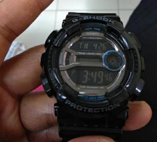 Gshock g-shock gd110 hitam