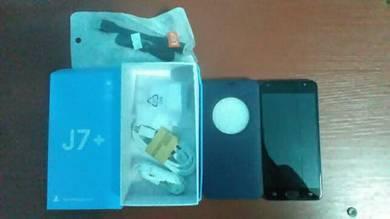 Samsung J7+ Biru
