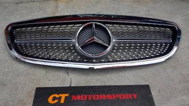 Mercedes W205 Exclusive Grille Diamond Grill