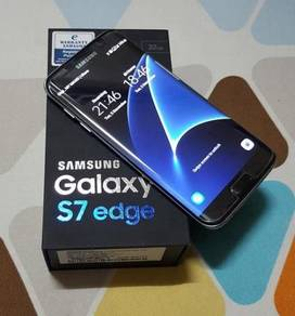 Samsung Galaxy S7 Edge, Ori SME, Fullset With Box