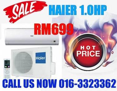 HAIER Aircond/KL/Selangor/Bdr Menjalara 1.0hp 699