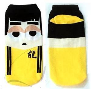 BRUCE LEE SUPERHERO CARTOON SHOES SOCKS 🔥