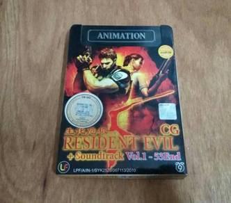 DVD-9 Animation Resident Evil