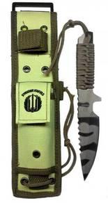 Fix Blade Strider Tiger Straight Back Knife