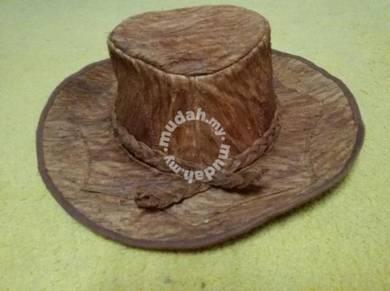 Topi Kulit Kayu Original Sarawak