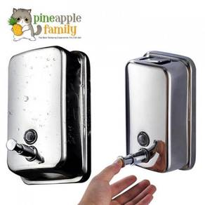 Stainless steel soap dispenser 12