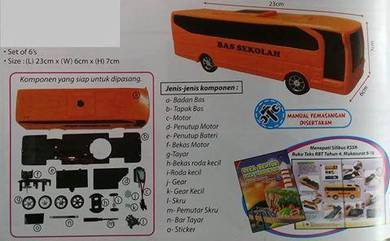 Kit Model Bas Sekolah Versi 3 (6's)