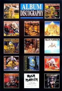 Poster Iron Maiden 14 Album Discography POSTER