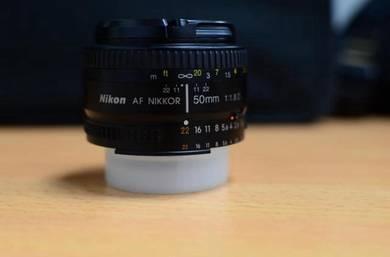 Lens 50 mm 1.8D Nikon