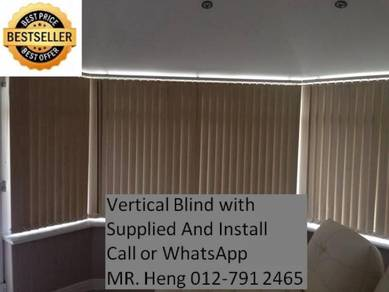 Easy Use Vertical Blind - with installation j92ej2