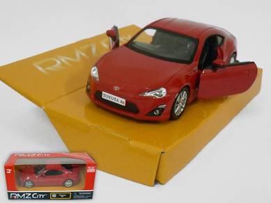 Toyota 86 1/32 diecast car - Red