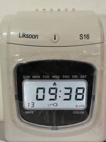 Times Recorderr LS (Skrin Digita|) - 5yrs Warranty