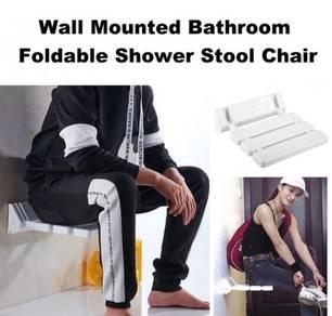 Wall Mounted Bathroom Foldable Shower Chair Stool