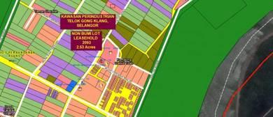 Tanah Industri 2.53 ekar Telok Gong Klang