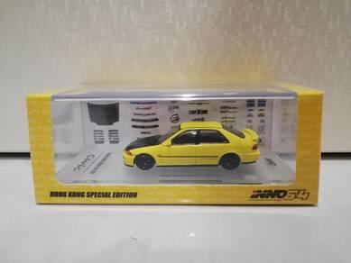 1-64 Inno Honda Civic EG9 spoon yellow Edition