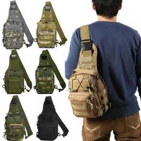 Beg Silang /Army Camo Sling Bag 02
