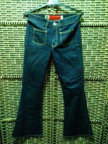 Vintage Jeans 70s Levis silver tab bell bottom