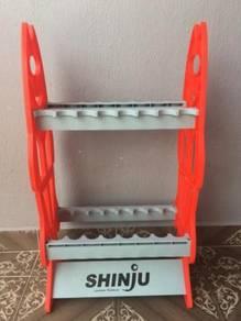 SHINJU JAPAN Fishing Rod Storage Rack Rak Joran