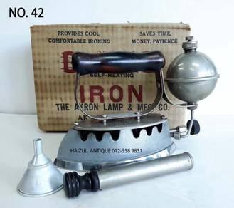 Seterika gasolin | vintage kerosene iron - no. 42