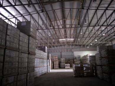 Rawang 1.3ac Warehouse/Factory for Rent With CF