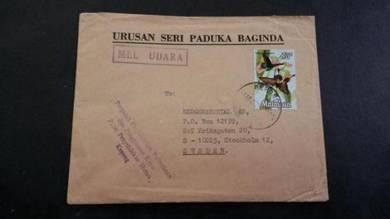Cover KEPONG USPB SWEDEN 1972 No 2525