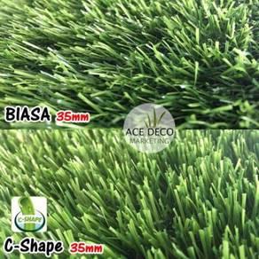 Artificial Grass / Rumput Tiruan Serat C-Shape 30