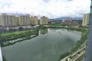 Zetapark above Setapak Central Mall facing Lake