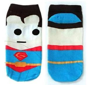 SUPERMAN SUPERHEROES CARTOON SHOES SOCKS 🔥