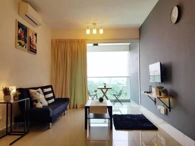 Bukit jalil twin ark residences 2room fully furnish beside golf club