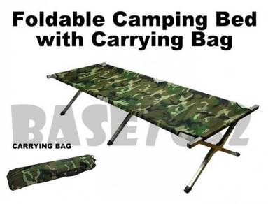 Military Camouflage Army Camping Camp Cot Bed