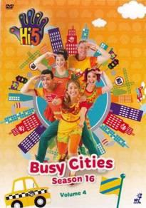 DVD Hi-5 Season 16 Vol.4 Busy Cities (Australia)