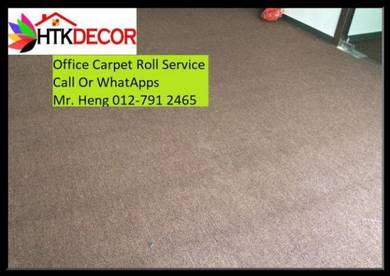 Classic Plain Design Carpet Roll with Install 39AC