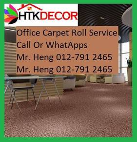 Natural Office Carpet Roll with install 63CE