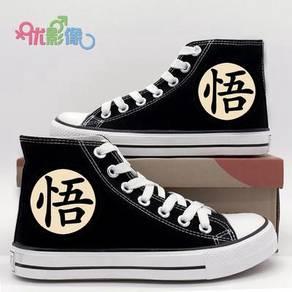 Anime Dragon ball canvas shoes