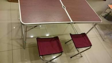 New design meja lipat 4x2 feet baru