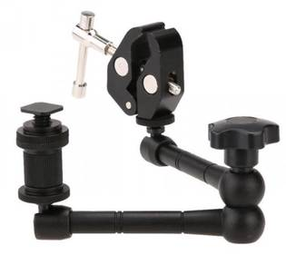 11 Inch Articulating Magic Arm with Super Clamp
