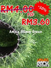 Artificial Grass / Rumput Tiruan 35mm Green 65